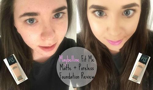 Kem nền cho da dầu Maybelline Fit Me Foundation che phủ mọi khuyết điểm, cho da mềm mịn tự nhiên